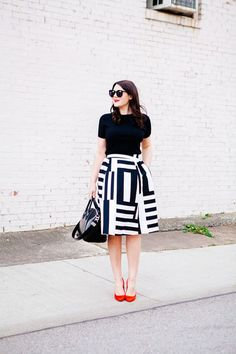 26 Striking Ways to Wear Bold Stripes