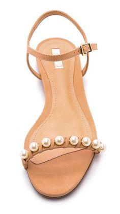 pearl beach sandals #pearls