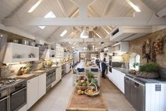 One of the best cookery schools in England, Daylesford cookery school is set in the heart of the Cotswolds and is a must for anyone who loves real organic food. Humphrey Munson, Healthy Crackers, Luxury Hampers, Organic Restaurant, Wood Store, Cooking Courses, Daylesford, Organic Chicken, Interior