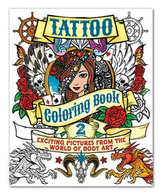 Best Publishing A Coloring Book 75 This Tattoo Coloring Book