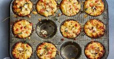 Keto crispy cauliflower cheese and bacon cups- replace Pablo with pork rind crumbs Bacon Cups, Bacon Pie, Just Pies, Fairy Bread, Cauliflower Cheese, Cauliflower Muffins, Cauliflower Recipes, Flaky Pastry, Perfect Breakfast