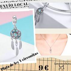 25% OFF👉Charm atrapasueños fabricado en plata de ley y circonitas con envio gratis🛩 #loveneck#charm#abalorio#platadeley#pulsera#colgante#pandora#rebaja#enviodesdeespaña Charms Disney, Pandora Bracelet Charms, Silver Charms, Harry Potter, Charmed, Bracelets, Jewelry, Stud Earrings, Bangle Bracelets