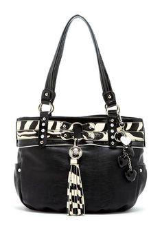 Kathy Van Zeeland Bling Belt Item Shopper Handbag by Bag It For Fall on @HauteLook