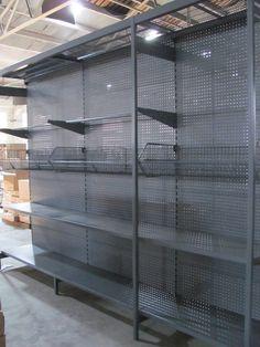 outrigger shelving, 4-post gondola shelving, heavy duty shop shelving, more items @ Linkup Store Equipment Co., Ltd.