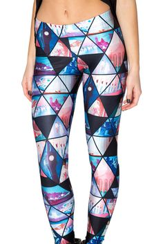 Cinderella Leggings by Black Milk Clothing $85AUD