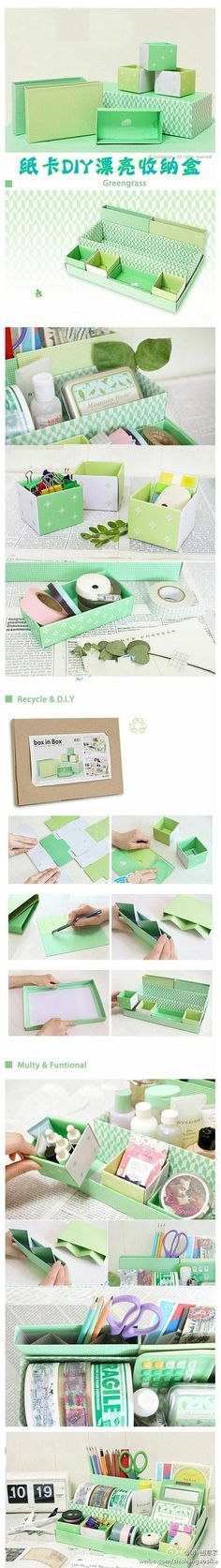Recycled and DYI packaging PD