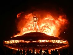 Attend to the mighty Burning Man.