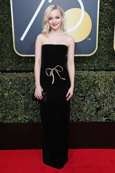Dove Cameron in Monique Lhuillier | Golden Globe Awards 2018
