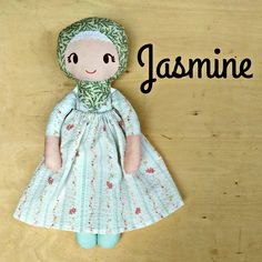 Cheer Up Your Kids!: New Hijabi cotton dolls...