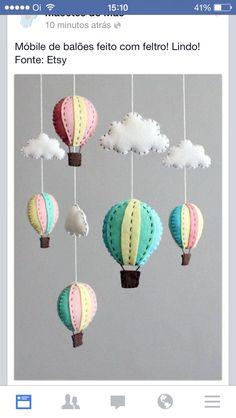 balão de feltro