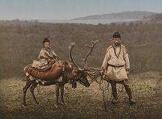 kuenstlichewelten:  Sami people in Finnmark, Norway, circa 1900