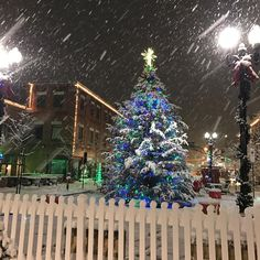Christmas 2016 in Downtown Indiana/IRMC Park - Chelsea Thompson photo via Instagram