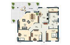 Das Bungalow mit ausgefallener Terrassenvariante von Elbe-Haus West® GmbH hat eine Wohnfläche von 100 – 120 m²m². Preis ab: auf Anfrage. Jetzt auf Massivhaus.de ansehen.