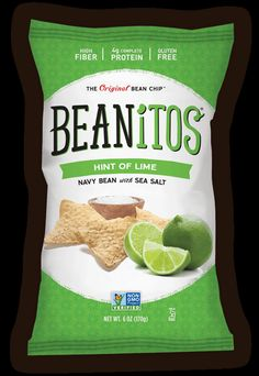 Beanitos // The Original Bean Snacks // Hint of Lime Chips