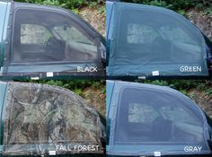 Skeeter Beater magnetic window screens for cars- wonder if I could DIY this?