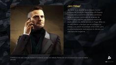 Jim Miller, Director de la División Central Europea del grupo de Operaciones 29 (Interpol Commander) #JimMiller #DeusEx #MankindDivided #DeusExMankindDividided