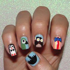 #RandomNailArtApr Umbrella! My first thought for umbrella was Mary Poppins. #nails #nailitmag #nailartohlala #disneyside #disneybound #marypoppins #notd #cnlc #michellemealey Poppins 2016, Disney Toes, Jamberry Disney, Disneyland Nails, Disney Inspired Nails, Mary Poppins Movie, Mickey Nails, Finger Art, Nail Art Pictures