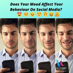 Does Your Mood Affect Your Behaviour On Social Media? Yes, all The Time😉 b. No, I Love Feeds😍 Comment Down Below 👇👇! Business Goals, Business Tips, Digital Marketing Services, Social Media Marketing, Digital Footprint, Behavior, Insight, Hacks, Technology