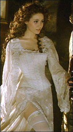 Cristine Daae Costume from movie Phantom of the Opera