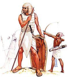 GUERREROS EGIPCIOS