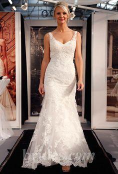 Brides.com: Fall 2013 Wedding Dress Trends. Trend: Floral Wedding Dresses. Gown by Casablanca Bridal  See more Casablanca Bridal wedding dresses in our gallery.