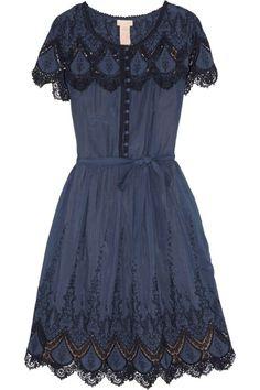 Lovely antique blue dress