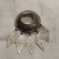 Vintage Frank Juhls Wedding Solje Brooch 830 Silver by lauraab51, $145.00