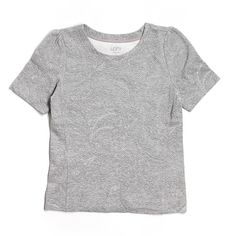 Pre-owned Ann Taylor LOFT Sweatshirt ($16) ❤ liked on Polyvore featuring tops, hoodies, sweatshirts, grey, gray top, loft tops, grey sweatshirt, gray sweatshirt and grey top