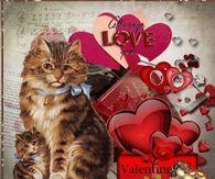 Happy Valentine's Day, I Love You Granddaughter