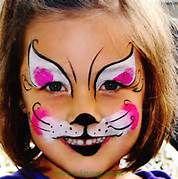 Cat Face Painting - Karinna