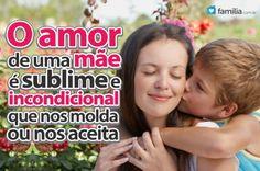 Familia.com.br | #Demonstrando #amor a quem sempre lhe #amou: Sua #Mae. #amor #carinho