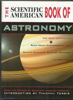 The Scientific American Book Of Astronomy 1999 VF-