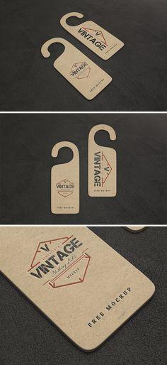 Free Vintage Label Mockups (202 MB) | By Ahmad Muradi on Behance | #free #photoshop #mockup
