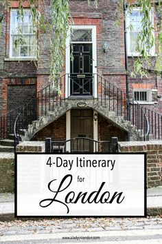 4 days in London is a good amount of time to see the big sights and get a deeper understanding of the city. Here's the perfect itinerary.