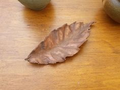 Small Sweet Chestnut Leaf  £18.00