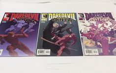 Daredevil Ninja 1 2 3 Complete Set (2000 Marvel Knights) Bendis, Haynes Comics  | eBay