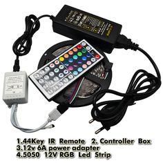 $15.85 (Buy here: https://alitems.com/g/1e8d114494ebda23ff8b16525dc3e8/?i=5&ulp=https%3A%2F%2Fwww.aliexpress.com%2Fitem%2F5050-LED-Strip-RGB-5M-300-LED-IP20-Led-Diode-Tape-Non-Waterproof-44key-Remote-6A%2F32373693916.html ) RGB 5050 DC 12V LED Strip Light 5M 300 LED Flexible Non-waterproof Diode Tape + 44key IR Remote Controller + 6A Power Adapter for just $15.85