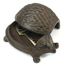 Cast Iron Key Rock Holder - Hide Your Spare Key Tortoise Hedgehog Frog Garden