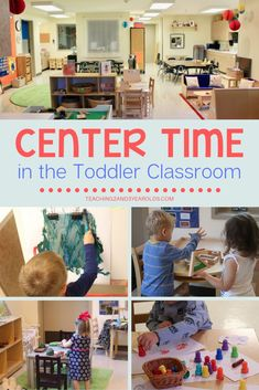 How to Set Up and Manage Toddler Center Time