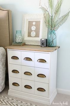 A New Bedside Table. Get the step by step instructions