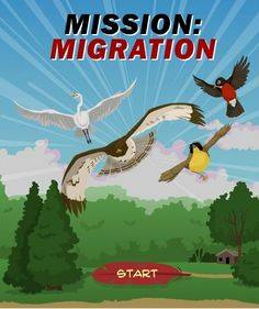 "In ""Mission Migration,"" Students help a flock of birds migrate safely while learning about their habitats. #SciChat #middleschool"