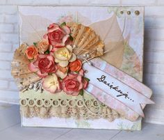 thank you card / papers Rosaly in the garden from Studio75