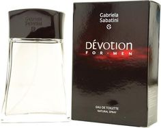 Devotion By Gabriela Sabatini For Men. Eau De Toilette Spray 1.7-Ounces by Gabriela Sabatini. $16.79. Packaging for this product may vary from that shown in the image above. This item is not for sale in Catalina Island. Launched by the design house of Gabriela Sabatini in 2001, DEVOTION is a men's fragrance that possesses a blend of moss, coriander and amber, very virile.  It is recommended for casual wear.Whenapplyingany fragrance please consider that there are several fa...