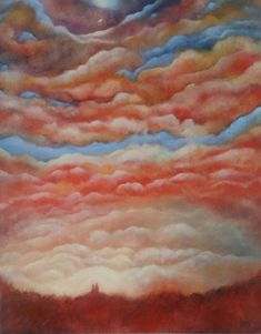 Forever Sky by Petar Novakovic Oil on canvas Oil On Canvas, Sky, Artist, Painting, Home Decor, Heaven, Decoration Home, Room Decor, Painted Canvas