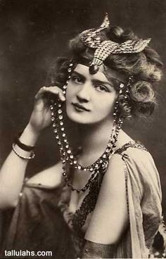 Lily Elsie, Vintage Egyptian Costume by Gatochy, via Flickr