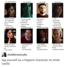 HTGAWM, how to get away with murder somewhere between vest goblins and car wash