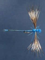 True artistry in this beautiful deer hair damselfly. Fly Fishing Gear, Trout Fishing, Fishing Lures, Fishing Tricks, Ice Fishing, Fishing Knots, Salmon Fishing, Fishing Tackle, Fly Casting