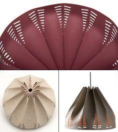 The-Oregami-Lamp -  המלכה הירוקה בפוסט מואר: אהילים מעוצבים בעבודת יד במחשבה סביבתית