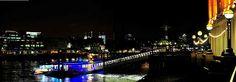 london panoramic river thames night view