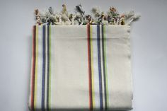 Turkish Peshtemal ,Linen Turkish Towel, Beach Towel,Turkish Beach Towel,Beach Peshtemal,fouta,swim towel,rolling towel It could possibly sound at first like the Turkish towel is much like most other towels, but there are numerous unique features which render it stand out. #peshtemal #peshtemaltowel #turkishtowel Turkish Bath, Turkish Towels, How To Roll Towels, Red Shop, Pool Towels, Cotton Towels, Towel Set, Wood Print, Beach Towel